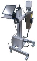 食用油桶生產日期激光打標機,桶身跟桶蓋都能打標