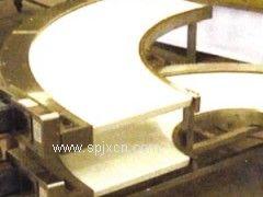 PVC转弯皮带输送机