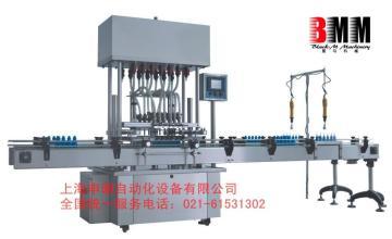 全自动液体灌装机|饮料灌装旋盖机