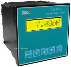 上海博取+PHG-2091D型工业PH计|工业在线酸度计|酸度计生产厂家|价格