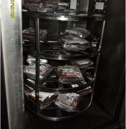 鸡鸭鹅微波熟化烘烤设备