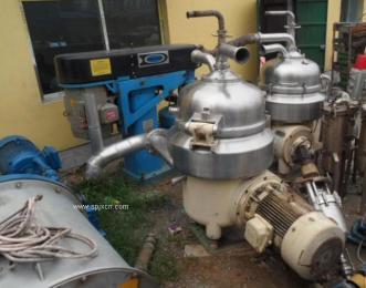 哈尔滨二手油脂设备回收/二手进口分离机回收/全自动分离机