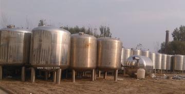 沈阳二手乳品设备回收/储罐回收/发酵罐回收/稀配罐回收/浓配罐回收/配料罐回收