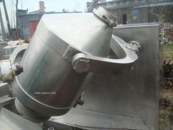 石家庄二手制药设备回收/二手食品设备回收/二手闲置微V型混合机回收/二三维混合机