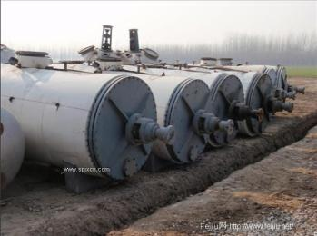 乌鲁木齐二手3000L耙式干燥机回收/二手真空耙式干燥机收购/淘汰化工厂设备回收