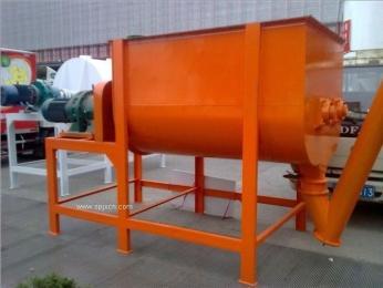 番禺1吨卧式搅拌机,卧式干粉饲料搅拌机饲料搅拌机、半吨搅拌饲料设备