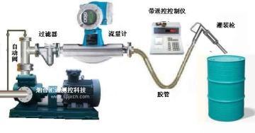 液体定量灌装流量计