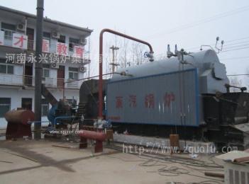6吨生物质气蒸汽锅炉