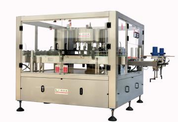 供应旋转式盘标热熔胶贴标机