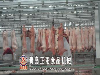 生豬屠宰設備流水線