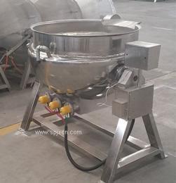 黄桃罐头预煮锅 不锈钢夹层锅