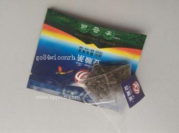 红茶绿茶,花果茶,八宝茶三角袋内外袋包装机