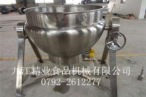 JYG-300/D可倾式电加热夹层锅
