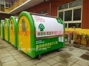 多功能流动美食车 电动快餐车 流动售货车