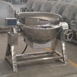 供应可倾式不锈钢夹层锅