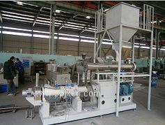 时产一吨湿法鱼饲料设备鱼饲料生产线饲料膨化机