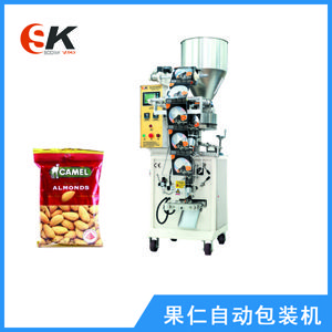 蟹黄蚕豆全自动包装机青豆小颗粒包装机械设备