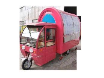 多功能小吃车房车电动三轮四轮美食车流动早餐车移动售货快餐车