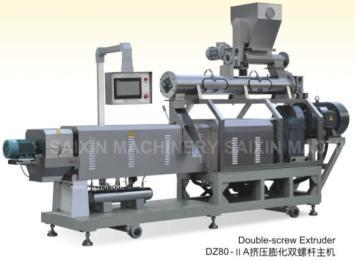 DZ80-IIA挤压膨化双螺杆主机