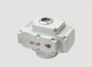 角行程电动执行器ZYS-20 ZYS-10使用说明
