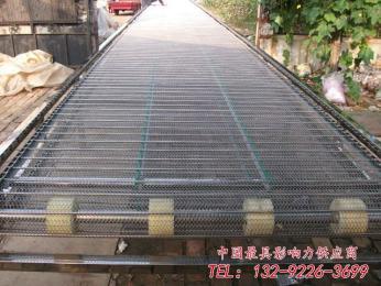 玉米加工厂输送机 金属螺旋网带输送机厂家 输送带安装设计