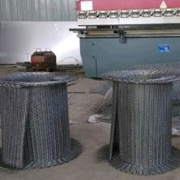 食品生产线金属网带 螺旋式输送带厂家
