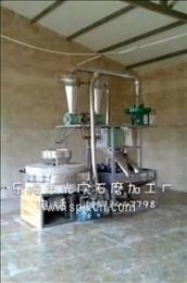 石磨面粉机中小型面粉机半自动面粉石磨机家用小石磨