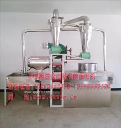 超市型石磨面粉机蛟龙式面粉石磨机小麦清理机