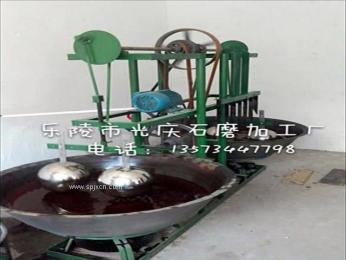 不锈钢单锅香油墩油机晃油机芝麻香油机石磨豆浆机