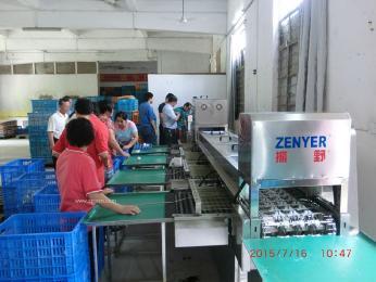 深圳振野新推出15000枚/小時鴨蛋聲波裂痕檢測分級機