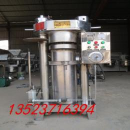 液压榨油机又接替了石磨榨油机液压榨油机无疑是先进的榨油设备