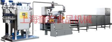 上海奎宏食品機械廠專業生產單色、雙色、三色硬糖澆注機設備