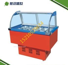冷藏冰粥展示柜 12盒冰粥機 做冰粥的機器 冰粥展示機