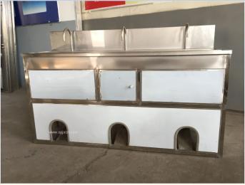 厂家直供不锈钢全密封式洗手消毒