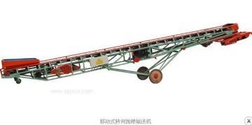 移动式输送抛粮机  皮带输送机抛粮专业