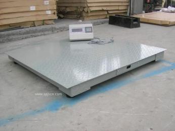 畜牧专用3吨电子地磅移动式规格/便携式