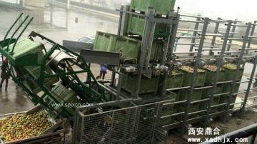 40-60T/h自動化翻筐卸料系統
