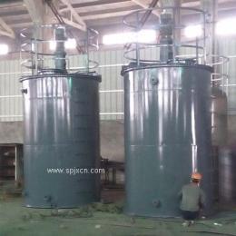 供应10立方钢衬塑搅拌罐