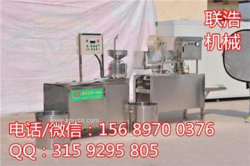 豆腐生产设备 全自动豆腐豆皮机 自动豆腐设备