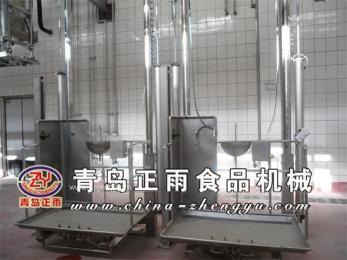 廠家直供ST-1600型牛雙柱升降臺,活動車體和扶手為不銹鋼
