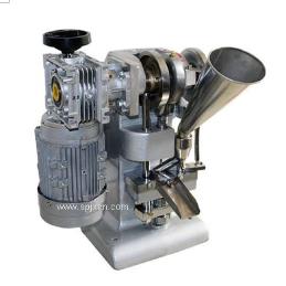 小型甘草粉壓片機渦輪式單沖壓片機