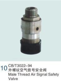 船用外螺纹空气信号安全阀 CB/T3022-94