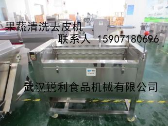 武汉RL-1000全不锈钢果蔬清洗去皮机