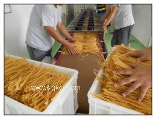 豆油皮微波干燥杀菌设备