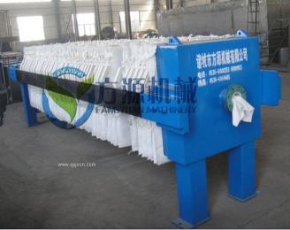 板框式污泥压滤机污水处理