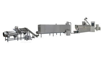 霖奥SLG65-III休闲膨化玉米球食品加工设备