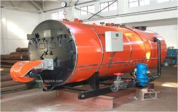 燃油燃气卧式蒸汽锅炉 750KG和1000KG燃油燃气锅炉