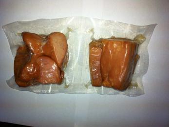食品肉制品海产品果蔬全自动拉伸膜真空包装机