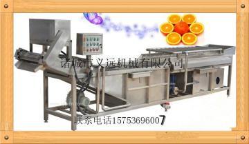 猕猴桃清洗机 黄桃水蜜桃清洗机 水果蔬菜水洗机