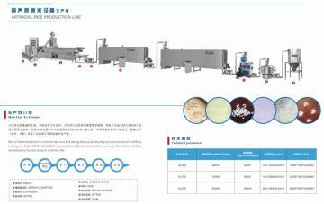 速食大米设备生产线